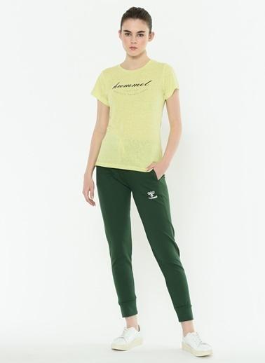 Hummel Bayan Tişört Firi 910422-6751 Yeşil